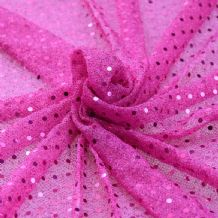 Cerise - Sequin Cloth